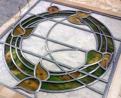 RDW Glass - George Walton inspired