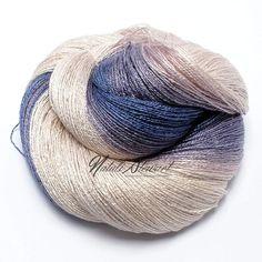 Gradient Bamboo / Silk Yarn