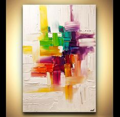 Modern Art Poster on Photographic Paper  Inside My by OsnatFineArt