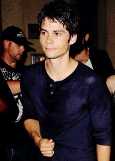 Dylan O'Brien at SDCC 2014 Party