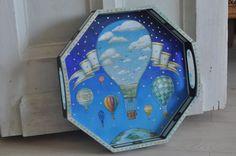 поднос Воздушные шары