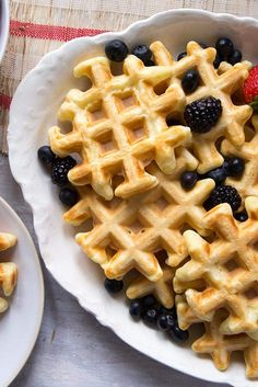 The Easiest Waffles Recipe