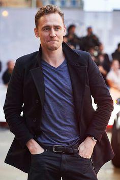 Tom Hiddleston at The 63 San Sebastian International Film Festival.