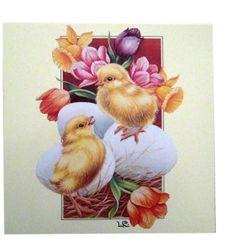 Lars Carlsson - Easter Postcard