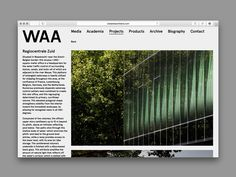 Wiel Arets Architects on Behance