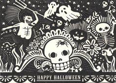 Happy Halloween + Illustration