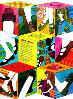 SWEET JANE: Vintage 60s Advert: American Girl Shoes 1967