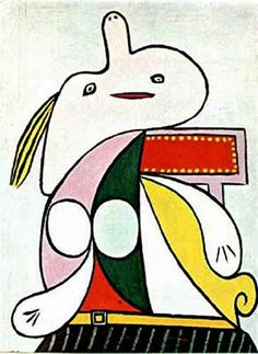The yellow belt - Pablo Picasso