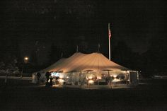 The Event took place under a tent on Bedford Village Green