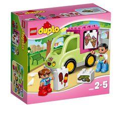 Lego Duplo: Ice Cream Truck (10586)  Manufacturer: LEGO Enarxis Code: 014709 #toys #Lego #duplo #ice_cream #truck