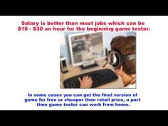 video game tester salary video game tester jobs get paid to play video games great information pinterest play video games and video games