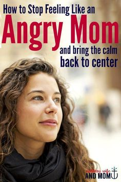 If you ever feel like an angry mom, this post is so helpful. It helped me learn how to become a calm mom and gave me strategies to manage anger in motherhood.