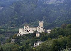 The castle is nestled in the Vinschgau Valley in Italy's Trentino–Alto Adige region and stands above the village of Schluderns.