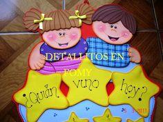 Calendario de cumpleaños en fomi - Imagui Bible Stories, Nice To Meet, Preschool Activities, Crafts To Make, Princess Peach, Classroom, Education, Art Work, Activities