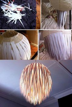 Simple (to make) Chic Paper Lamp