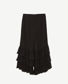 Image 6 of TROUSERS WITH FRILLS from Zara