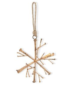 3D Nail Snowflake Ornament | POSH365INC