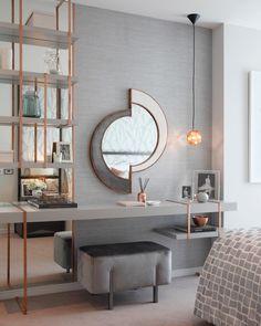 Incredible Art Deco Design You Can Try To Display Exhibits Incredible Art Deco Design You Can Try To Display Exhibits - Mobilier de Salon Gray Bedroom, Modern Bedroom, Bedroom Wall, Bedroom Furniture, Furniture Design, Trendy Bedroom, Master Bedrooms, Bedroom Decor, Bedroom Ideas