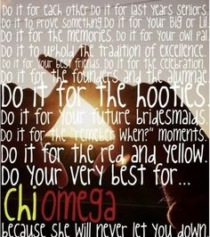 Chi Omega <3