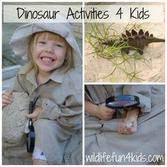 Ten Top Dinosaur Activities for Kids