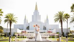 Oakland lds mormon temple wedding photographers