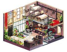 plante dans maison