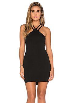 LNA Santa Cruz Dress in Black | REVOLVE