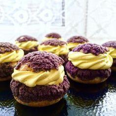 Современные десерты: французские пирожные Шу с тестом craqueline