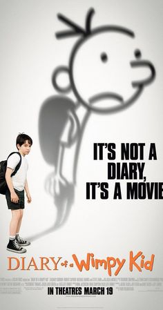 Diary of a Wimpy Kid the movie, 2010 Wimpy Kid Movie, Wimpy Kid Books, Book Posters, Cinema Posters, Movie Posters, Kid Movies, Great Movies, Zoo Wee Mama, Childhood Tv Shows