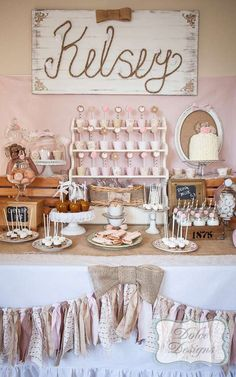 Vintage Cowgirl Birthday Party Ideas | Photo 5 of 29 | Catch My Party
