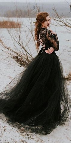 Dark Romance: 21 Gothic Wedding Dresses ★ See more: weddingdressesgui. Dark Romance: 21 Gothic Wedding Dresses ★ See more: weddingdressesgui. Wedding Dress Black, Black Wedding Dresses, Black Weddings, Wedding Shoes, Modest Wedding, Wedding Rings, Gothic Fashion, Fashion Beauty, Romantic Fashion