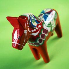 Vår dalahäst. Foto: Trigger