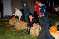 Halloween Parties for Kids....great scavenger hunt plans