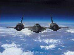 Lockheed SR-71. Mach 4. 100,000 ft ceiling.