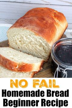 Baking bread at home isn't as scary as it sounds, and is easier to make than you probably think. If you wanna try making homemade bread here's an easy way. Best Picture For bread recipes homemade easy For Your Taste You are looking for something, and[. Yeast Bread Recipes, Loaf Recipes, Baking Recipes, Easy Homemade Bread Recipes, Homemade Recipe, Recipe To Make Bread, Basic Bread Recipe No Yeast, Easiest Bread Recipe, Yeast For Bread
