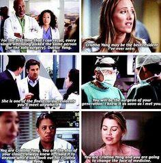 Talking about Cristina Yang Greys Anatomy Funny, Grays Anatomy Tv, Grey Anatomy Quotes, Grey Quotes, Tv Quotes, Movie Quotes, Grey's Anatomy, Dark And Twisty, Cristina Yang