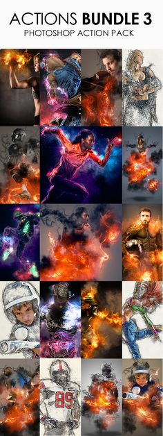 Creative effects #bundle #photoshop #action [only 11$]