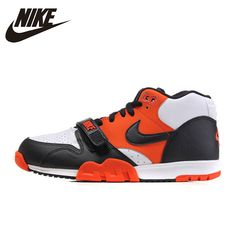 bac733b193 NIKE Original 2016 New Arrival AIR TRAINER 1 Mens Skateboarding Shoes  Breathable Waterproof Sneakers For Male