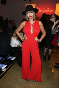 Pin for Later: The 1 Thing Jackie Cruz Will Always Wear With Everything A Fiery Red Jumpsuit