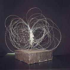 "Saatchi Art Artist: Maja Taneva; Metal 2015 Sculpture """" love center universe """""