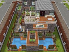 House 79 full view #sims #simsfreeplay #simshousedesign