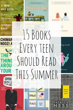 These 15 books should be on every teen's radar this summer