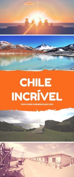 Paisagens de cinema no Chile. Melhor do Chile. O que fazer no Chile. Melhores fotos que você pode tirar no Chile - San Pedro de Atacama, Iquique, Ilha de Páscoa, Chiloé, Muelle de las Almas. Paisagens lindas no Chile.