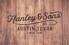 Hanley Font Collection  by DISTRICT 62 STUDIO on @creativemarket