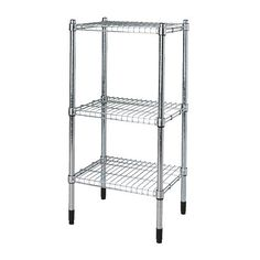 GOT IT - need something like this in our coat closet to organize the freaking toolbox, and paper towels, and gift wrap and all the random ass crap that is in there, ugh. - $34.99