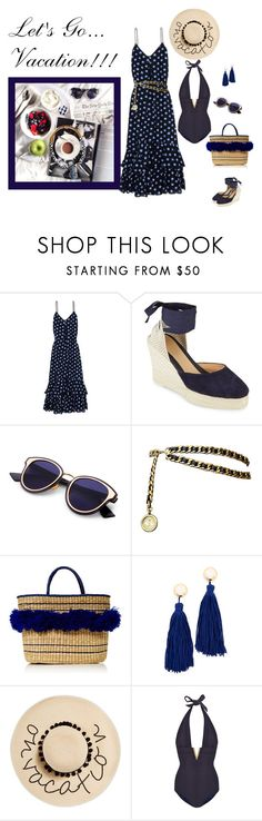 """""""Just Starting Out"""" by jjsunnygirl ❤ liked on Polyvore featuring Boutique Moschino, Manebí, Chanel, Nannacay, Shashi, August Hat and Heidi Klein"""