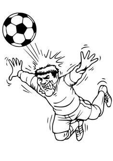 ausmalbilder kostenlos fußball spieler 08   ausmalbilder