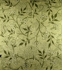 'Jasmine' wallpaper design, 1872, Morris, William (1834-96) / Private Collection / The Bridgeman Art Library