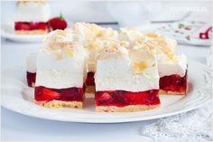 Ciasto Balladyna - I Love Bake Cheesecake, Baking, Food, Cakes, Cheese Cakes, Bakken, Kuchen, Bread, Meals