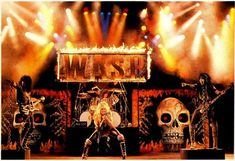 W.A.S.P. - Took heavy metal and huge over-the-top stage shows to a new level of extreme